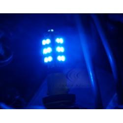 2 x 25 LED-Lampen t10 blau - SMD - t10 W5W