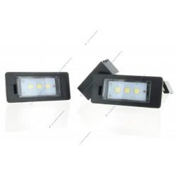 Pack modulo LED SMD de matrícula AUDI A3 8P, A4 B7, Q7, A6 C6