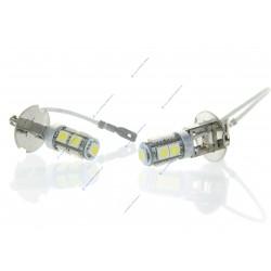 2 X Lampen H3 24V - LED SMD 9 LED