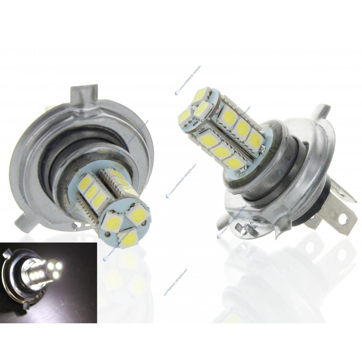 2 x 24v Glühbirnen h4 - SMD LED 18 LED