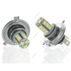 2 x Ampoules H4 24V - LED SMD 18 LED