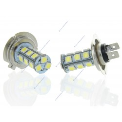 2 x Bulbs H7 24V - LED SMD 18 LED