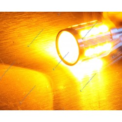 2x lampadine LED 21 sg - P21W - giallo