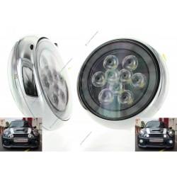 Feux de jour + Longue portée Mini FULL LED R55 R56 R57 R60 06-15