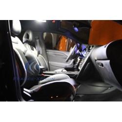 interior LED Pack - Serie 3 E90 E91   sedan Berline/break - Luxury white