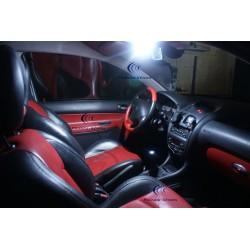 Pack intérieur LED - PEUGEOT 107 - BLANC
