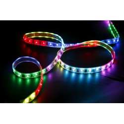 Ruban LED RGB 5050 PRO avec télécommande 5m - GRAND LUXE