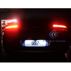 Pack plaque d'immatriculation LED - VANTAGE aston martin - Luxe Blanc