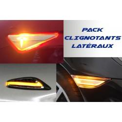 Pack Répétiteurs latéraux LED pour Peugeot Bipper