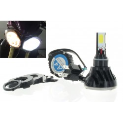 Kit LED h4 / BA20D / hs1 px43t / motorcycle head light 40 / 45W - High gamm
