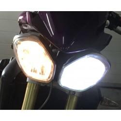 Kit LED h4 / BA20D / HS1 px43t / moto luce capa 40 / 45W - Alta Gamm