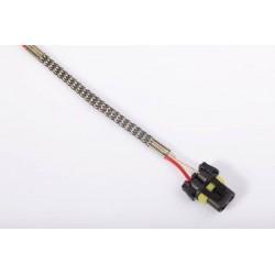 1 X H7 4300 K lange Metall 35W