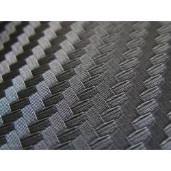 Vinyl Fibre de Carbone 3D Noir 30m x 1,52m