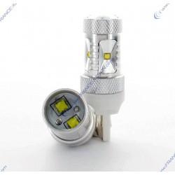 6 CREE 30W Bulbs - W21W 7440
