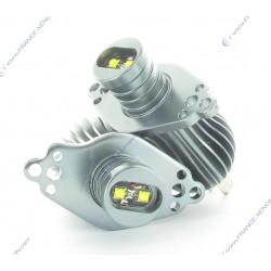 Pack Angel Eyes H8 10W E70 / E71 / E60 / E61 / E63(07-) / E64(07-) / E92 / E93  - NEUF - type H8 - Garantie 2 ans