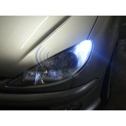 2 x BULBS 5 LEDS WHITE - LED SMD - 5 led- T10 W5W