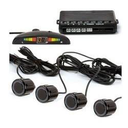 Sensori di parcheggio 4 sensori nero - con display + buzzer
