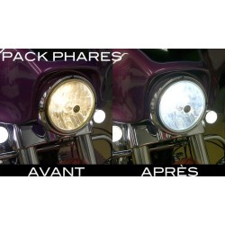 Pack ampoules de phare Xenon Effect pour VN-15 1500 A (VNT50A) - KAWASAKI