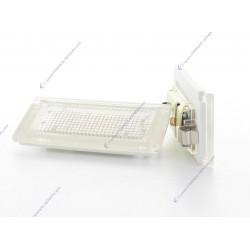 Pack module plaque arrière VAG AUDI A3 8P, A4 B7, Q7, A6 C6 (type A)- BLANC 6000K
