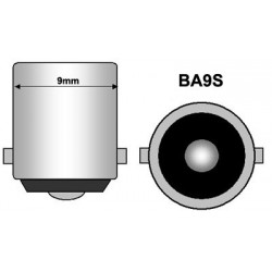 2 x AMPOULES 5 LED SMD CANBUS - BLANC - 5 led- T4W BA9S