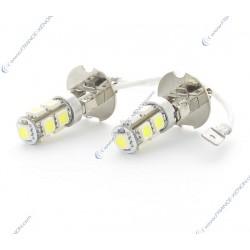 2 x h3 Birnen SMD LED 9