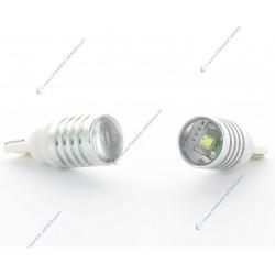2 x BULBS 1 LEDS CREE - LED CREE - T10 W5W