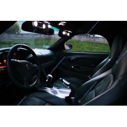 Pack intérieur LED - Porsche Boxster 986 - BLANC