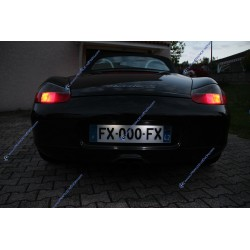 Pack plaque LED - Porsche BOXSTER 986 & 987 - BLANC