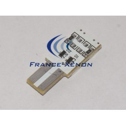 BULB 4 SMD ONESIDE WHITE PUR - T10 W5W