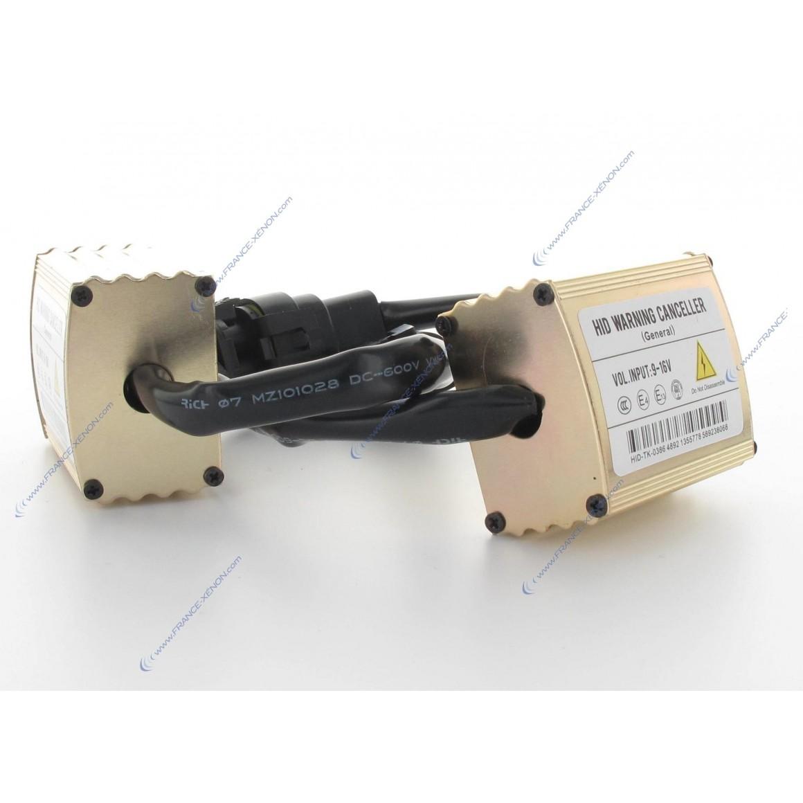 2x Warning Canceller HV1 - Voiture Haut de Gamme - Boitier anti-erreur