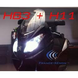 Pack Xenon 2 x HB3 + 1 X H11 4300 K - GSX - R