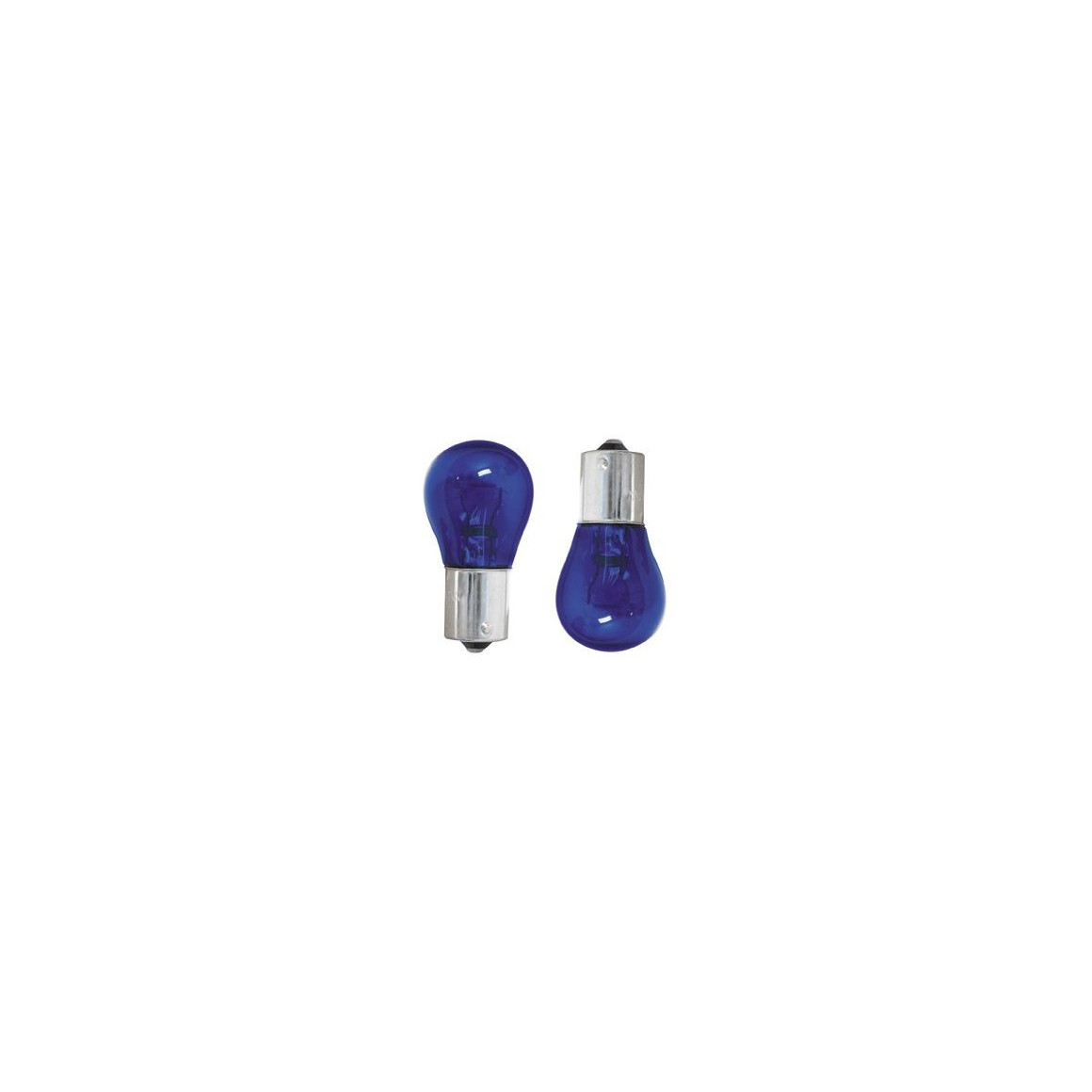 2 x Bulbs BlueVision P21W - Ergots BA15S
