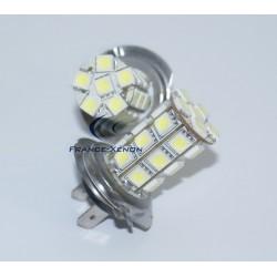 2 x Ampoules H7 LED SMD 27 LED