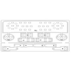 License plate Led Set GOLF 6 PLUS, PASSAT 2011, SHARAN 7N, TOURAN GP2, TOUAREG II WHITE 6000K