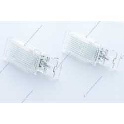 Pack modules d'intérieur LED VAG GOLF 5, 6, JETTA, PASSAT, POLO, SHARAN, TIGUAN, TOURAN, SHARAN... - BLANC 6000K