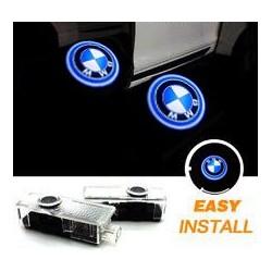 2x Logo nach Hause zu kommen - BMW