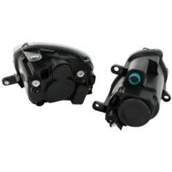 OETEC HEADLIGHTS FIAT 500 07+ _ 4 PARTS _ BLACK