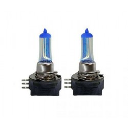 2 x h15 5000k bulbs 15 / 55W super white - France-xenon