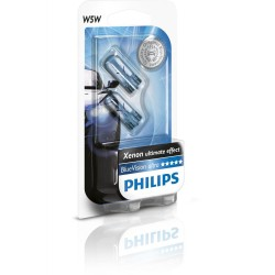 2 x Philips bulb W5W WhiteVision 4300K ​​- t10 lugs