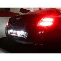 LED-Kennzeichen Pack - Bentley Continental GT - Luxus blan