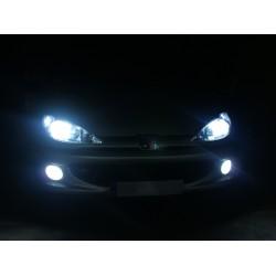 Pack FULL LED Peugeot 407 -dipped-beam headlamps + headlights