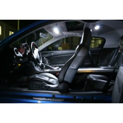 LED paquete de interior - Audi S2 80 y RS2 - BLANCO