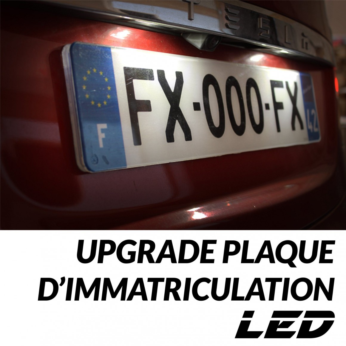 Upgrade LED plaque immatriculation i10 (PA) - HYUNDAI