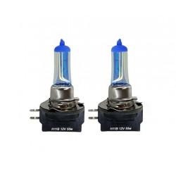 2 x 100 W Glühbirnen H11B 7500K Plasma hod - Frankreich-Xenon
