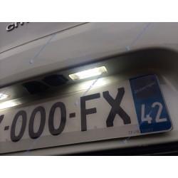 Paquete de modulos de placa trasera Peugeot 207 307 308 406 407 408 508 1007 3008 5008 RCZ Partner Expert