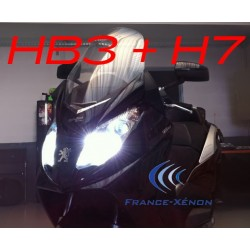 Pack xenon HB3 +H7 6000K - moto