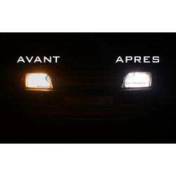 2 X  H1 55W 12V SUPER WHITE BULBS - FRANCE-XENON