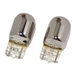 2 x Ampoules WY21W T20 CHROME ORANGE - FRANCE-XENON