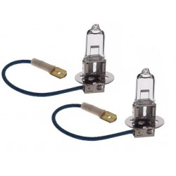 2 x Ampoules H1 100W 12V VISUAL WHITE - FRANCE-XENON