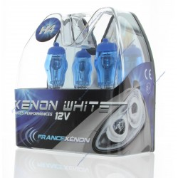 2 x h4 lampadine 60 / 55W 6000k hod Xtrem - Francia-xeno